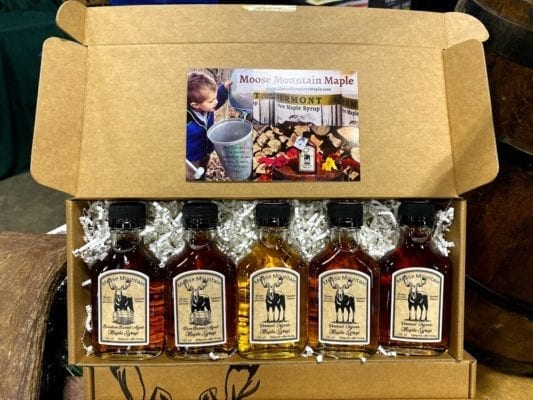 maple syrup sampler box